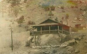 C-1910 Foxton Colorado Midway Cottage RPPC Photo Postcard 3397