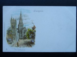 Scotland GLASGOW The Cathedral c1903 UB Postcard by Raphael Tuck Views 168