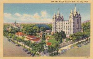 The Temple Square Salt Lake City Utah