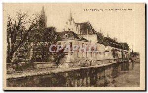 Postcard Old Strasbourg Old Customs