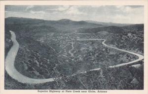 Superior Highway At Pinto Creek Globe Arizona Albertype