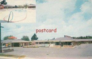 c1950/60's SYL-VA-LANE MOTEL & REST Sylvania GA The C.F. Lane's, Owners-mgrs