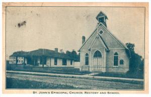 6707   MN Collegeville   St. John´s Episcopal Church, Rectory, School, Thank...