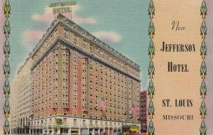 ST LOUIS , Missouri , 1930-40s; New Jefferson Hotel