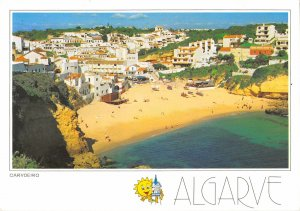 B110044 Portugal Carvoeiro Algarve Beach Panorama Plage General view