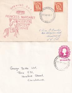 Princess Margaret Hospital Opening Day First Day Cover & Postmark s