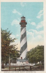 ST. AUGUSTINE , Florida , 1910s ; Anastasia lIGHTHOUSE
