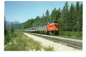 Canadian National Railway Train Super Continental, Geike, Alberta