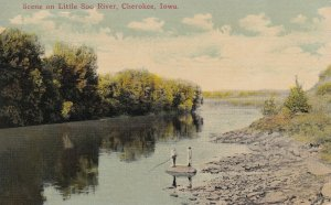 CHEROKEE, Iowa, 1900-1910s; Scene On Little Soo River