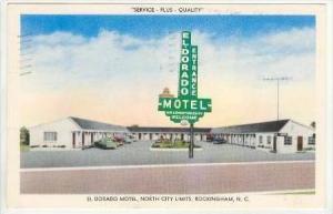 El Dorado Motel, North City Limits, Rockingham, North Carolina, PU-1959
