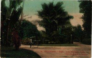 CPA AK INDOCHINA Saigon Jardin Botanique VIETNAM (957172)