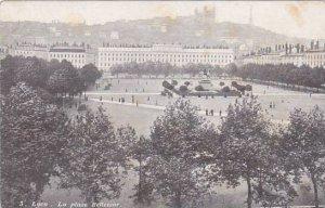 France Lyon La Place Bellecour