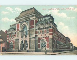 Pre-1907 ACADEMY OF FINE ARTS Philadelphia Pennsylvania PA A1838
