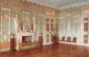 B98018 the green dining room   town of pushkin the catherine palace russia