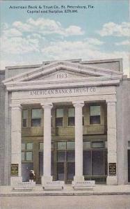 Florida St Petersburg American Bank and Trust Co Curteich