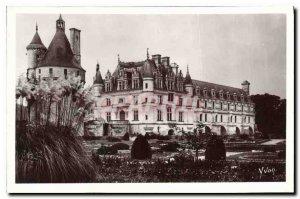 Postcard Old Chateau Chenonceaux