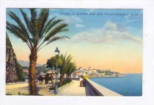Genova. Il Quartiere Foce dalla Circonvallazione a Mare, ITALY , 00-10s