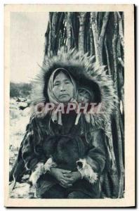 Old Postcard Polar Cap for two Arctic Circle Alaska