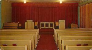 Kansas City Kansas~Central Baptist Theological Seminary~Chapel Interior~1950s PC