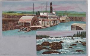 Oregon Columbia River Willamette Falls and Cascade Locks