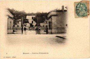 CPA AK Geiser 9 MASCARA Caserne d'Infanterie ALGERIA (755500)