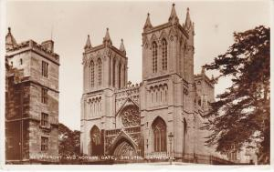 RP, West Front And Norman Gate, Bristol Cathedral, BRISTOL, England, UK, PU-1956