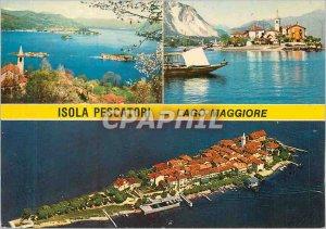 Modern Postcard Isola Pescatori (Lago Maggoire)