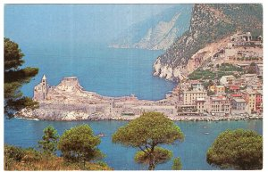 Italy, Village of Portovenere - Pan Am makes the going great to Europe