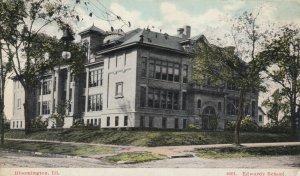 BLOOMINGTON, Illinois, 1901-07; Edwards School