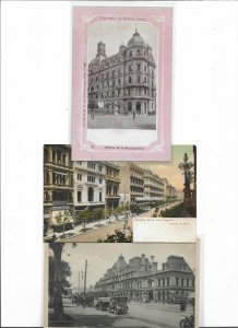 Argentina Buenos Aires Avenida de Mayo and more Postcard Lot of 6 01.13
