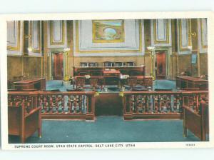 Unused W-Border COURT HOUSE Salt Lake City Utah UT n4725