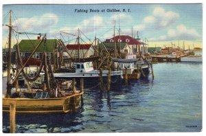 Fishing Boats at Galilee, R.I.