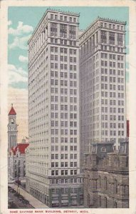 Michigan Detroit Dime Savings Bank Building 1915