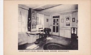 Massachusetts Concord Louisa Alcotts Room Orchard House