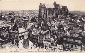 Vue Generale Prise Du Beffroi, Saint-Quentin (Aisne), France, 1900-1910s