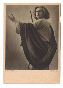 Germany Oberammergau Actor Hans Lang Johannes John 1930