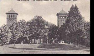 Massachusetts East Northfield The Northfield School For Girls The Auditorum A...
