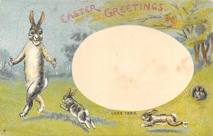 Easter Greetings Transparencies Unused