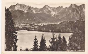 RP, Barmsee m. Karwendel, Bavaria, Germany, PU-1958