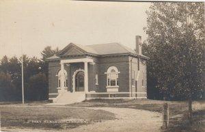 RP: STEEP FALLS , Me. , 1900-10s ; Free Memorial Library