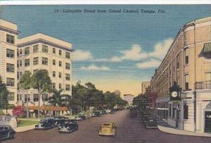 Florida Tampa Lafayette Street From Grand Central