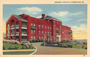 Memorial Hospital, Cumberland, MD, USA Memorial  Cumberland, MD, USA Unused