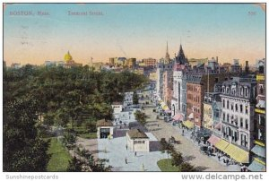 Tremont Street Boston Massachusetts 1910