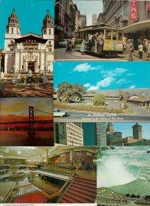 Big Mixed USA Postcard Lot of 35 Chromes 01.15