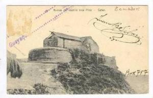 Ruinas del castillo Inca Pilca - Canar, Ecuador, 00-10s