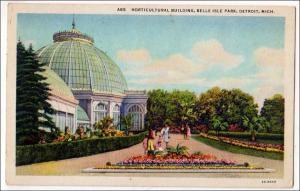 Horticultural Bldg, Belle Isle Park, Detroit Mich
