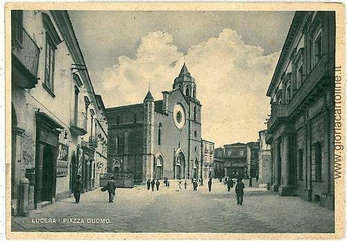 07872 - CARTOLINA d'Epoca - FOGGIA: LUCERA