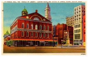 Massachusetts Boston , Faneuil Hall