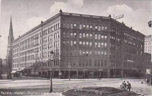 New York Syracuse Yates Hotel
