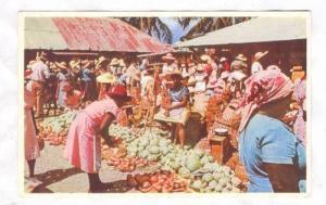 Market Day, Jamaica, B.W.I. 40-50s